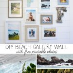 Beach Theme Gallery Wall With Free Printable Beach Photography | The   Free Printable Beach Pictures