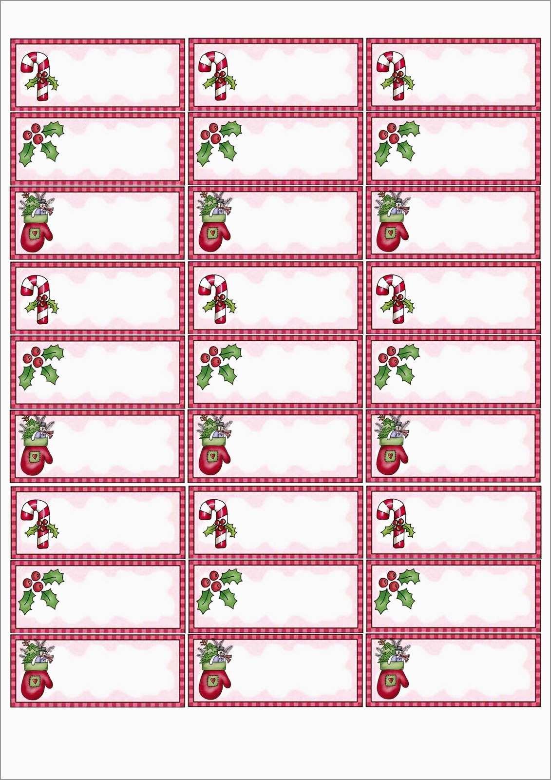 Beautiful Christmas Address Labels Free Templates | Best Of Template - Free Printable Christmas Address Labels Avery 5160