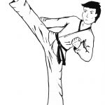 Beautiful Free Printable Karate Coloring Pages | Coloring Pages   Free Printable Karate Coloring Pages