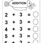 Beginner Addition – 6 Kindergarten Addition Worksheets / Free   Free Printable Worksheets For Lkg Students