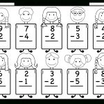 Beginner Subtraction – 10 Kindergarten Subtraction Worksheets / Free   Free Printable Subtraction Worksheets