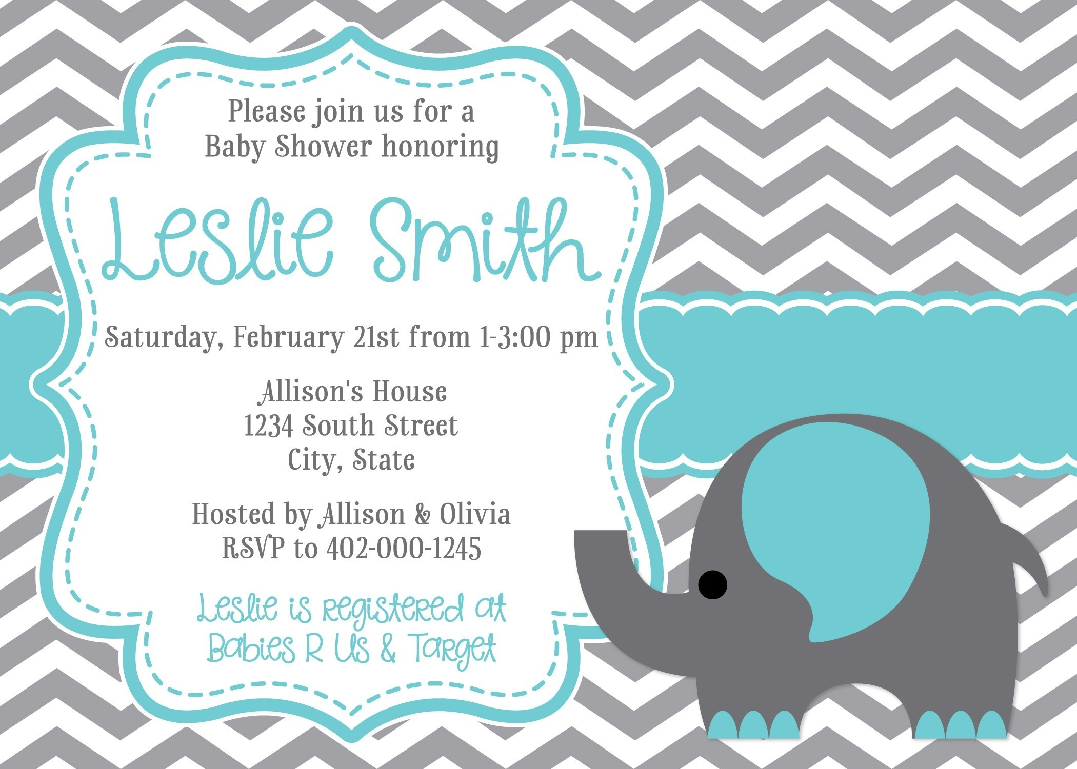 Best Of Free Printable Baby Girl Shower Invitation Templates | Www - Free Printable Baby Shower Invitations Templates