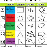 Beyond Art Therapy Roll A Feelings Game   Free Printable Counseling Worksheets