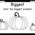 Biggest And Smallest Pumpkin – 2 Worksheets / Free Printable   Free Pumpkin Printables