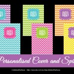 Binder Covers | Allaboutthehouse Printables   Free Printable Monogram Binder Covers