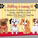 Birthday Invitation. Dog Birthday Invitations Free Printable   Free Printable Puppy Dog Birthday Invitations