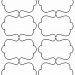 Blank Christmas Shapes Templates   Bing Images | Patterns   Fancy Labels Printable Free