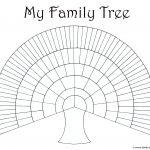 Blank Family Trees Templates And Free Genealogy Graphics   Free Printable Family Tree Charts
