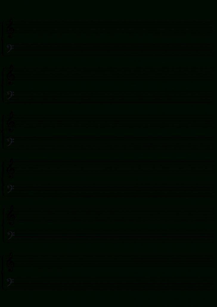 Free Printable Blank Sheet Music