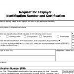 Blank W9 2018 – 2019 – Free W9 Form To Print   W9 Form Printable 2017 Free