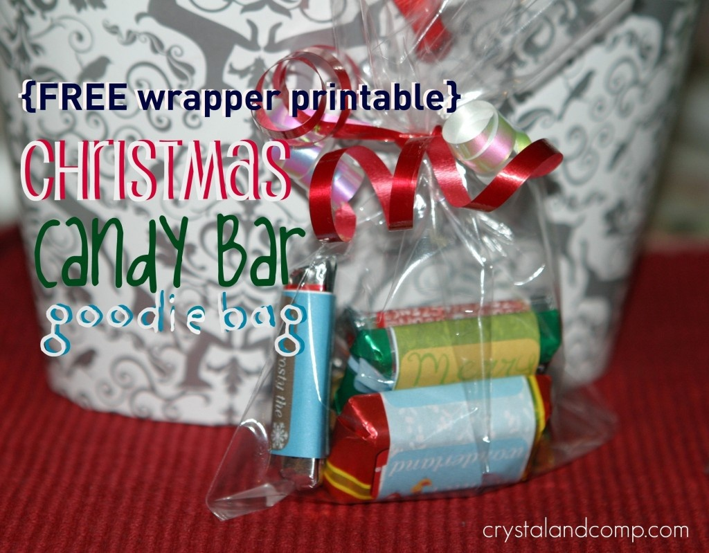 Blog | Crystalandcomp - Free Printable Christmas Candy Bar Wrappers