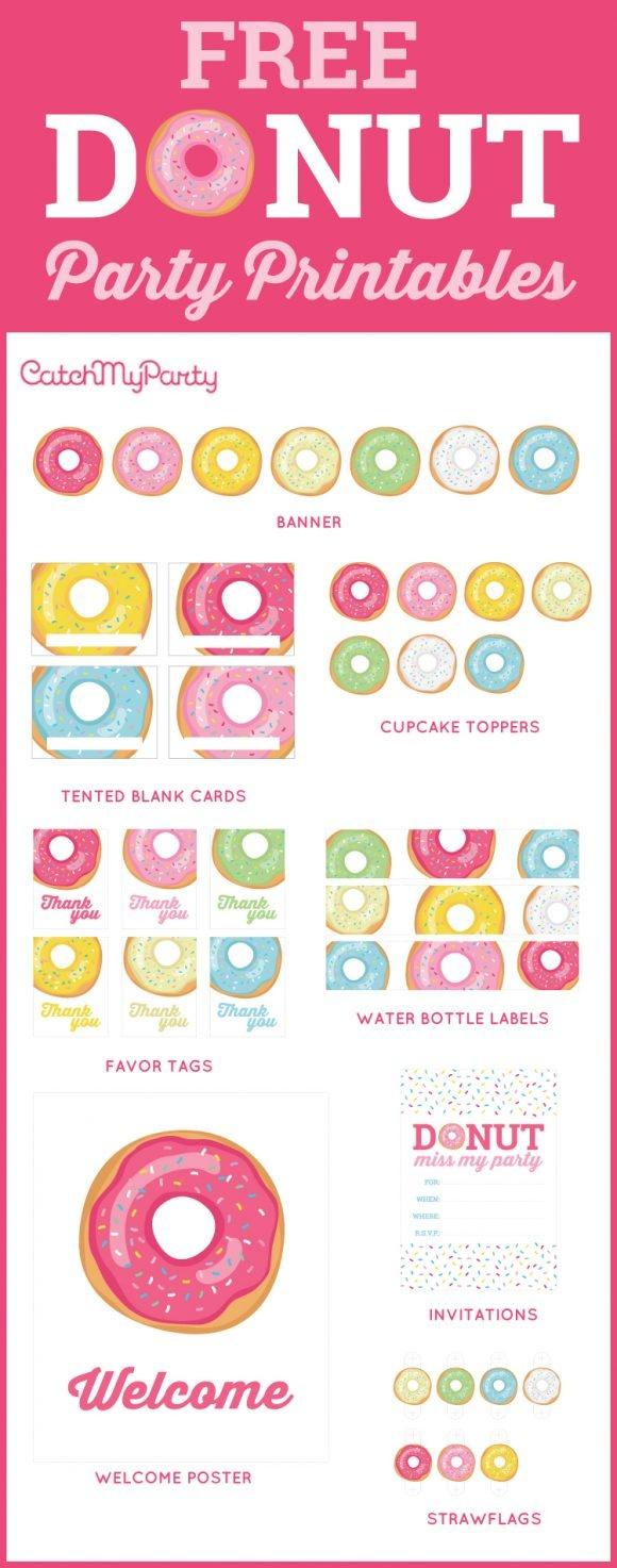 Blog Posts In The Category Printables (Free Birthday) Page 1 | Catch - Free Party Printables
