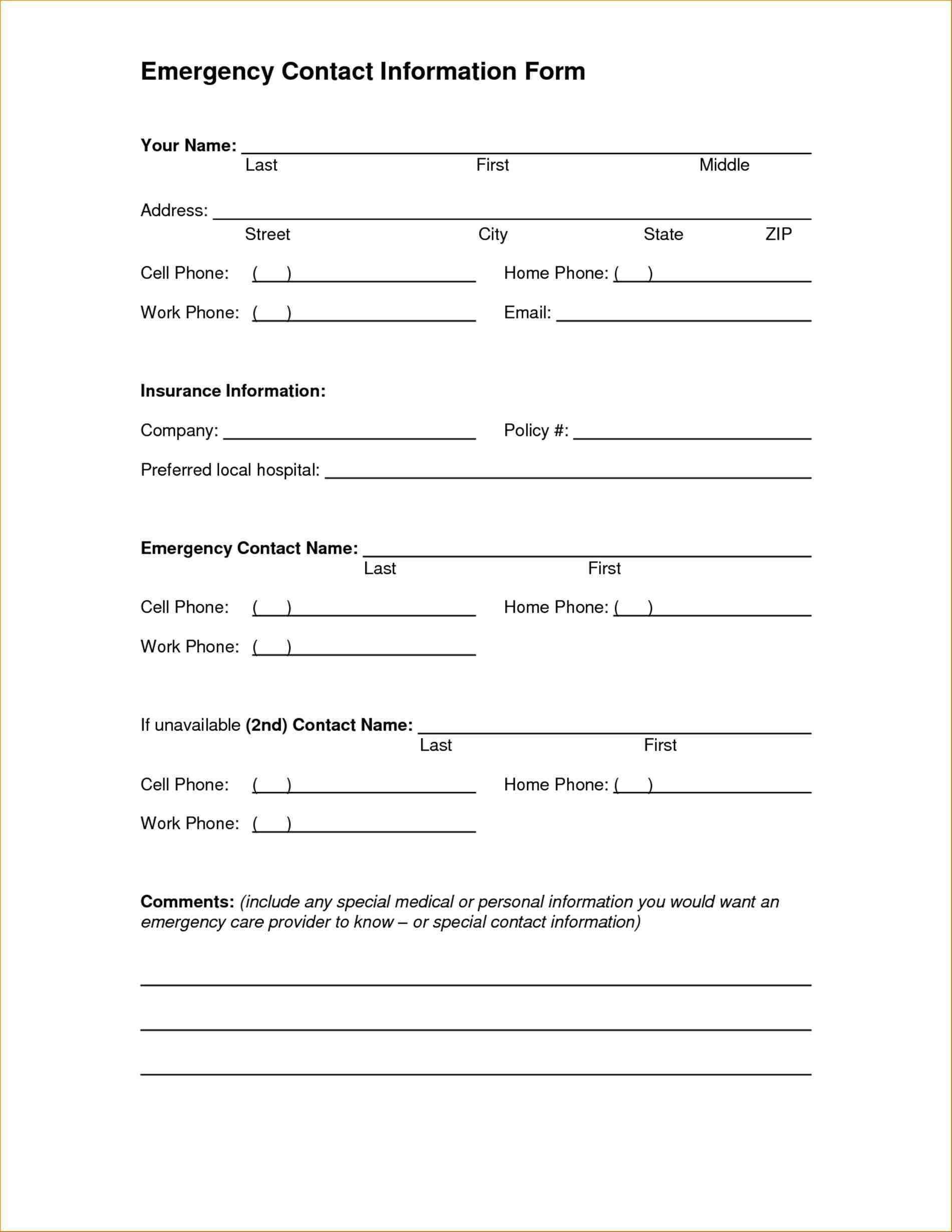 Bracelets Ideas - Part 227 - Free Printable Emergency Medical Card