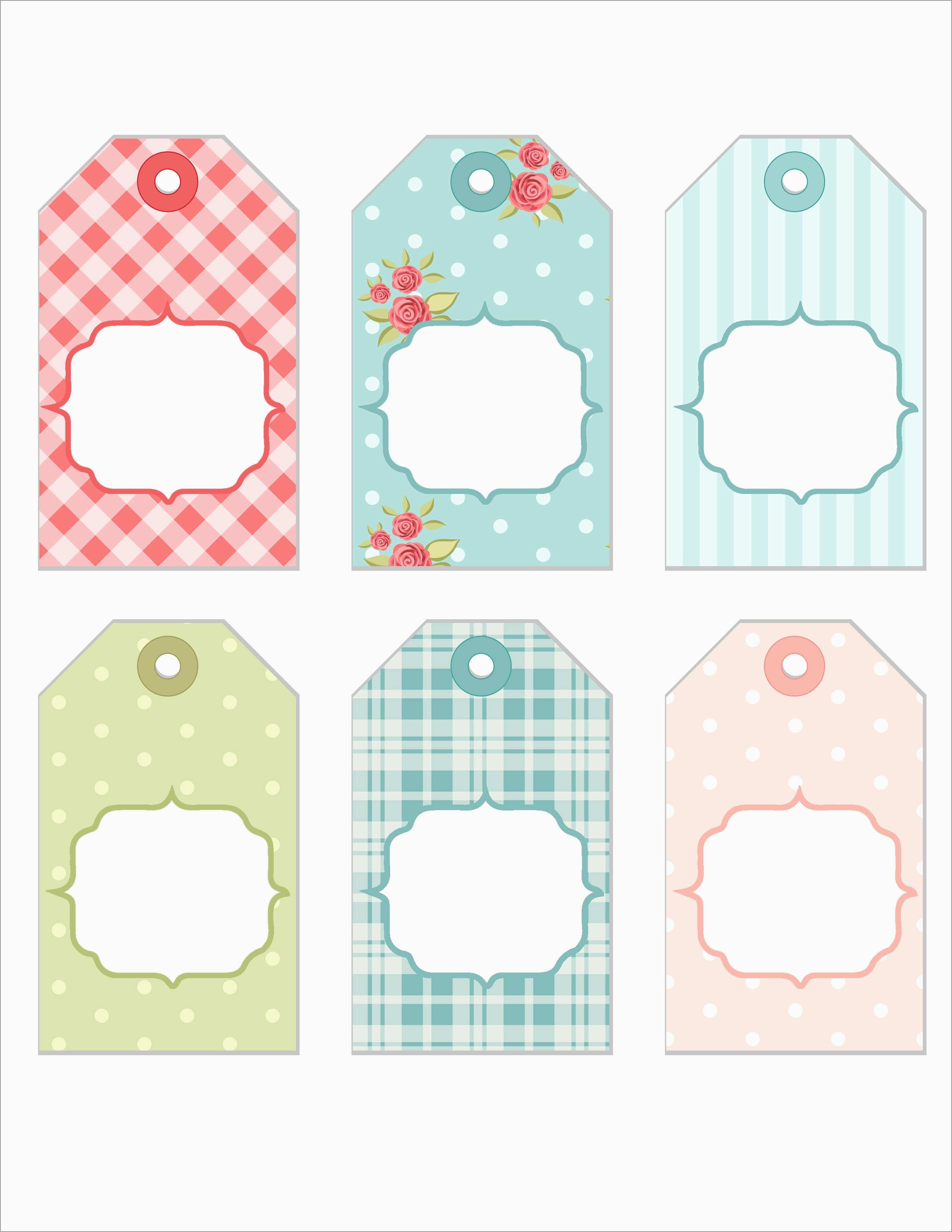 Bridal Shower Favor Tags Template Free Best Tea Party Thank You Tags - Free Printable Baby Shower Gift Tags