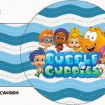 Bubble Guppies Free Party Printables.   Oh My Fiesta! In English   Bubble Guppies Free Printables