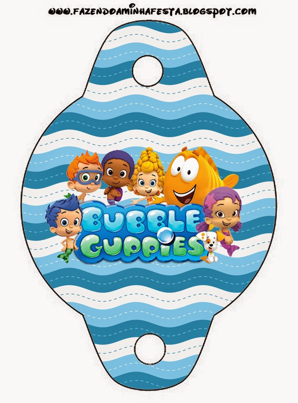 Bubble Guppies Free Party Printables. | Party Favorite | Bubble - Bubble Guppies Free Printables