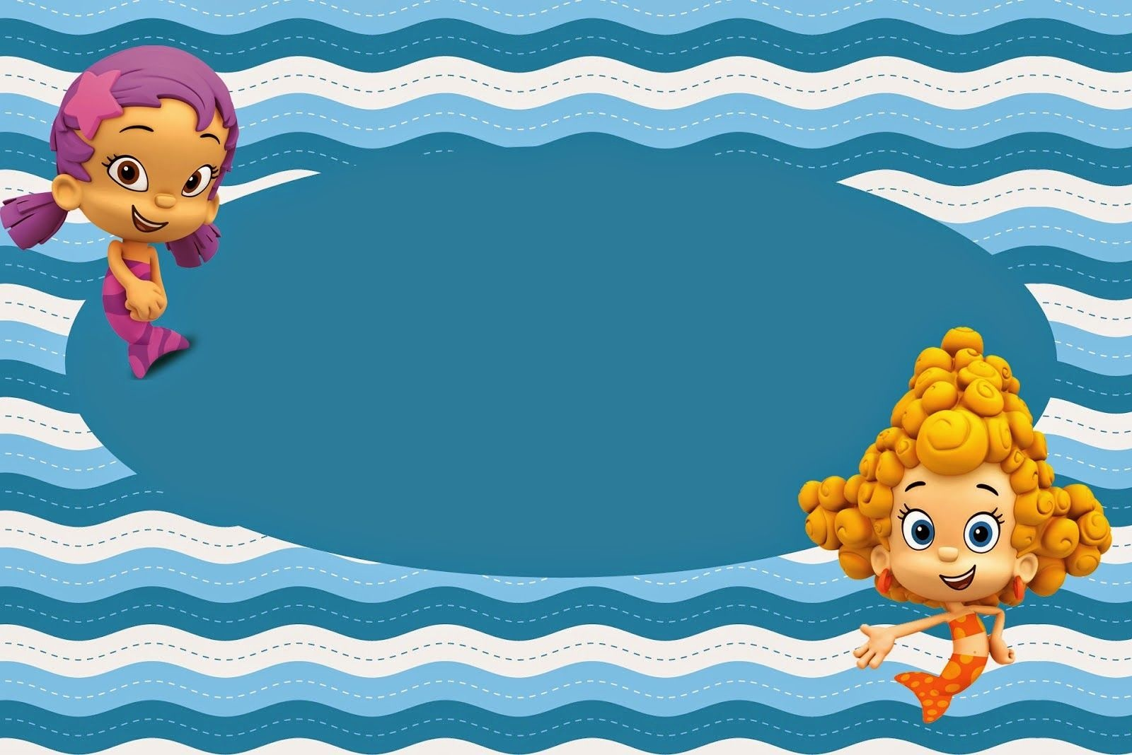 Bubble Guppies Free Printable Invitations. | Bubble Guppy In 2019 - Bubble Guppies Free Printables