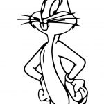 Bugs Bunny Coloring Page | Wecoloringpage | Bunny Coloring Pages   Free Printable Bugs Bunny Coloring Pages