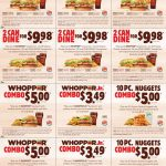 Burger King Printable Coupons Expire January 4 2015 | Places To   Free Printable Coupons 2018