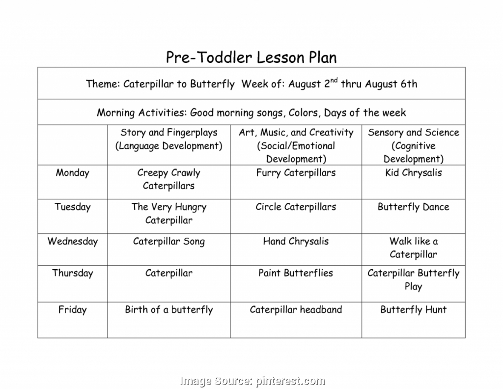 Business Plan Trending Free Infant Lesson Plans Forare Toddler - Free Printable Infant Lesson Plans