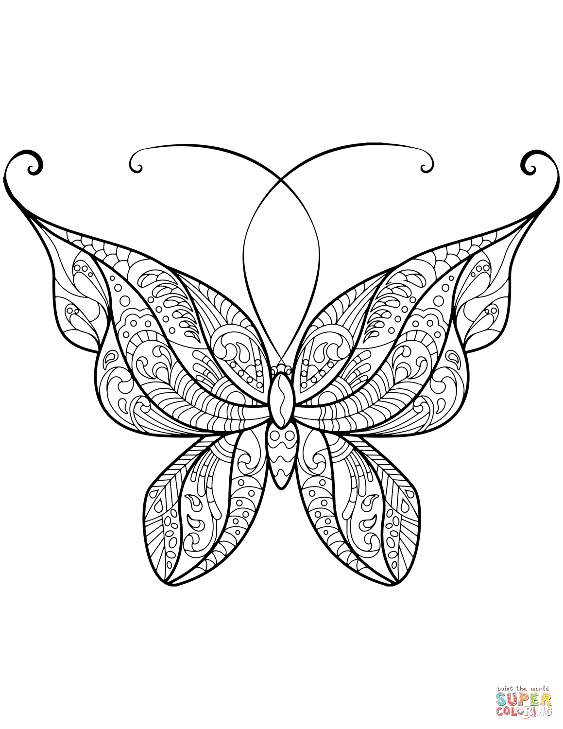 Butterfly Coloring Pages | Free Coloring Pages - Butterfly Free Printable Coloring Pages
