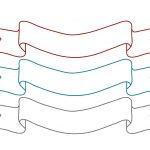Cake Banner Template | Stationary | Banner Template, Cake Stencil   Free Printable Cake Banner Templates