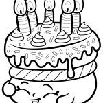 Cake Wishes Shopkin Coloring Page | Free Printable Coloring Pages   Shopkins Coloring Pages Free Printable