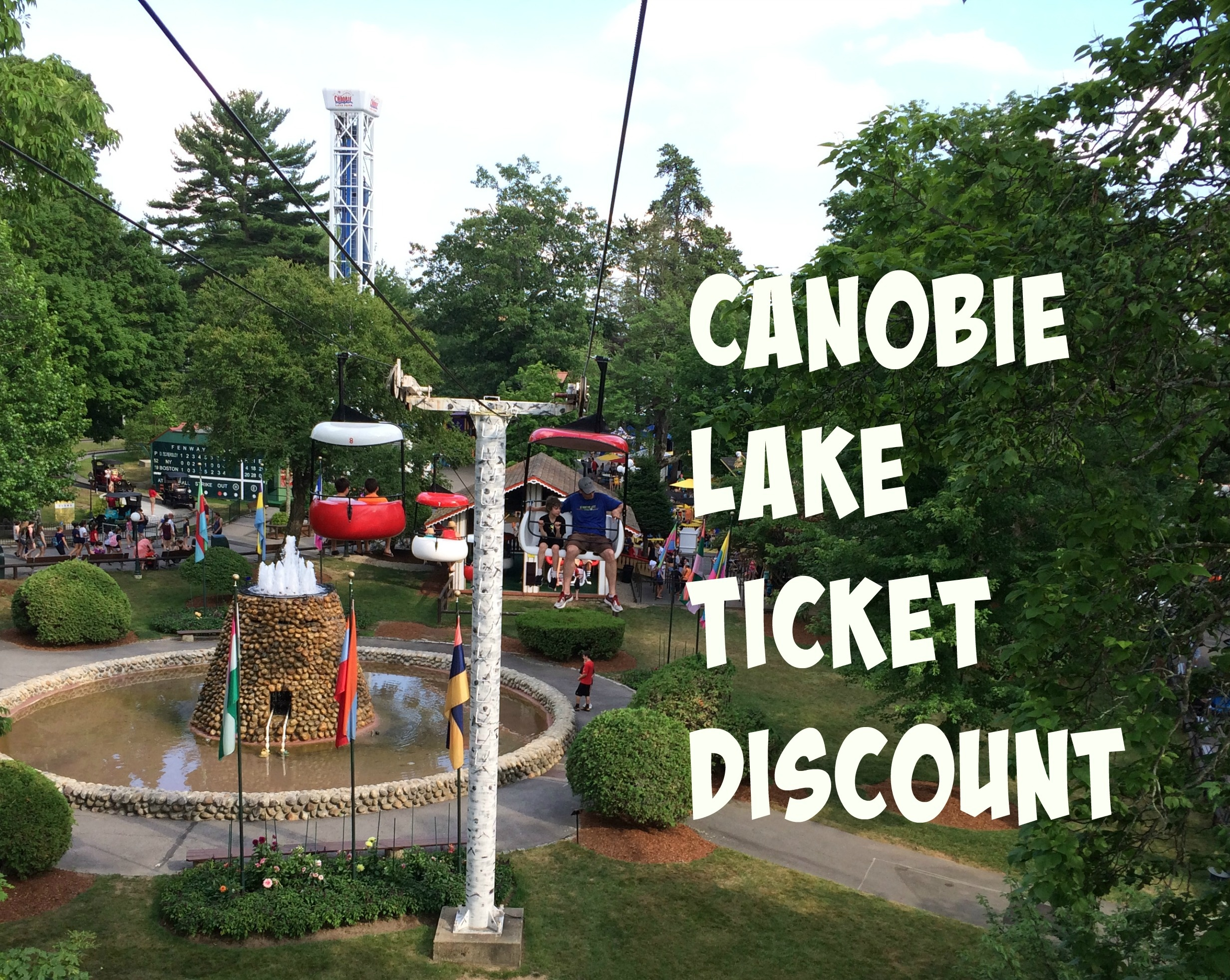 Canobie Lake Ticket Discount - Boston Living On The Cheap - Free Printable Coupons For Canobie Lake Park