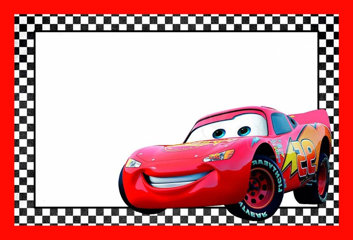 Cars Lightning Mcqueen Printable Template | Cars Birthday In 2019 - Free Printable Disney Cars Birthday Party Invitations