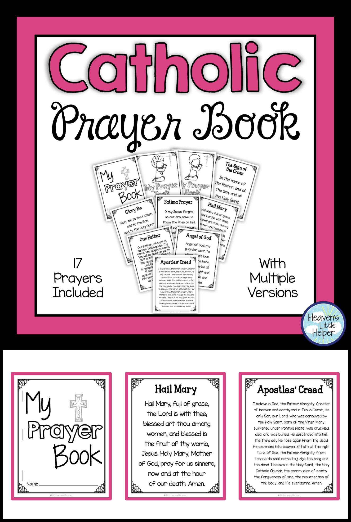 Catholic Prayer Book | Cce | Catholic Religious Education, Catholic - Free Printable Catholic Mass Book