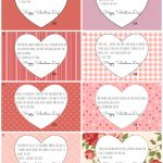 Catholic Valentine Cards: Free Printables!   California To Korea   Free Valentine Printables