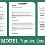 Cbt Practice Exercises (Worksheet) | Therapist Aid   Free Printable Counseling Worksheets