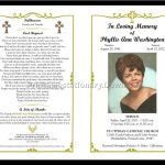 Celebration Of Life Templates For Word Free   Aol Image Search   Free Printable Funeral Program Template