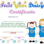 Certificates   Cholla Neighborhood Girl Scouts Of Chandler, Arizona   Free Bridging Certificate Printable