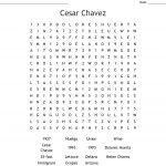 Cesar Chavez Word Search   Wordmint   Cesar Chavez Free Printable Worksheets