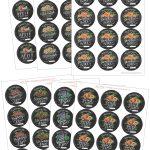 Chalk Art Jam Labels Hand Drawnvalerie Mckeehan   Free Printable   Free Printable Jam Labels