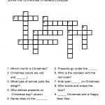 Charger Christmas Crossword Puzzle Answers. Christmas Crossword   Free Printable Christmas Puzzles
