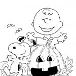 Charlie Brown Halloween Coloring Page | Free Printable Coloring Pages   Free Online Printable Halloween Coloring Pages
