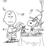 Charlie Brown Thanksgiving Coloring Page | Free Printable Coloring Pages   Free Printable Charlie Brown Halloween Coloring Pages