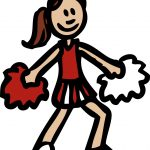 Cheerleader Clip Art Free   Cliparting   Free Printable Cheerleading Clipart