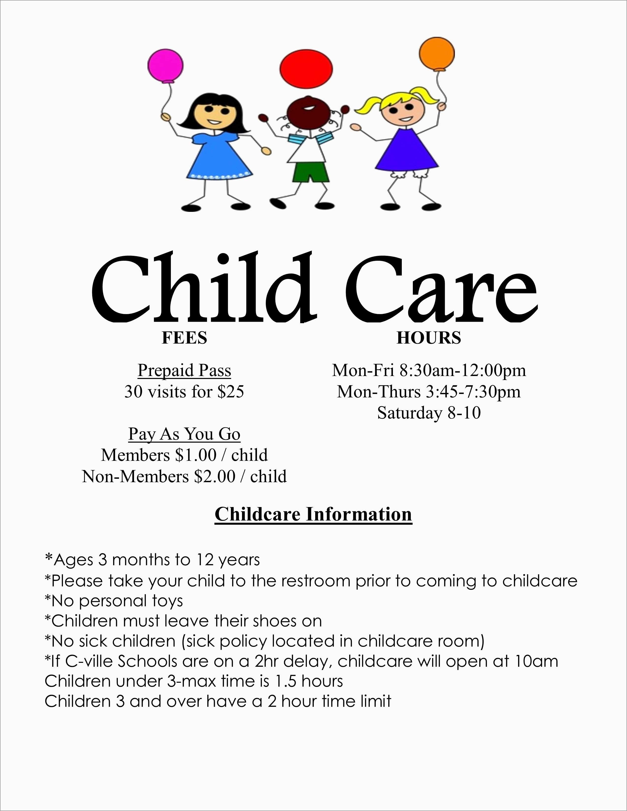 Childcare Newsletter Templates Free Best Of Best Free Printable - Free Printable Daycare Flyers