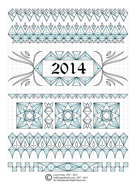 Chip Carving Free Sampler Patternlora Irish | Lsirish - Free Printable Chip Carving Patterns