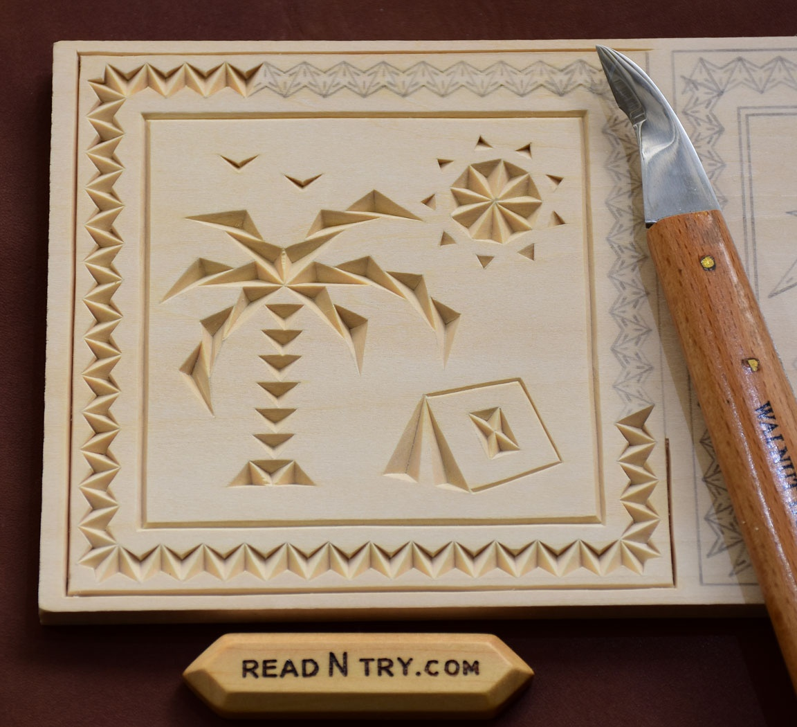 Chip Carving | Read N Try - Free Printable Chip Carving Patterns