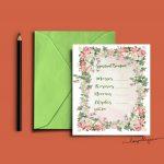 Christian Study Tools: Spiritual Bouquet Gift Card Free Printables   Free Printable Spiritual Gifts Test
