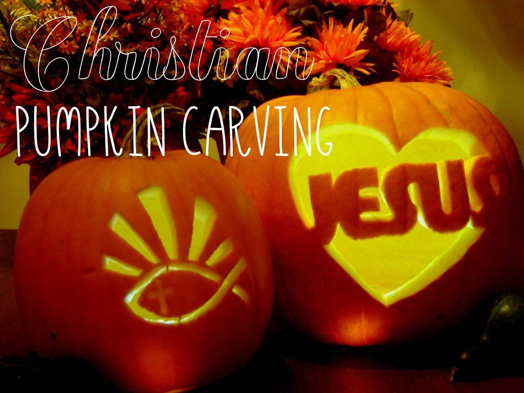 Christians Can Carve A Pumpkin For Halloween That Is Not Scary Or A - Free Christian Pumpkin Carving Printables