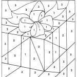 Christmas Coloring Pages With Numbers | Chrismast And New Year   Free Printable Christmas Color By Number Coloring Pages