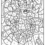 Christmas Colornumber Coloring Pages Printable | Coloring Pages   Free Printable Christmas Color By Number Coloring Pages