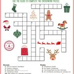 Christmas Crossword Puzzle Printable   Thrifty Momma's Tips   Free   Free Printable Christmas Puzzles