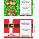 Christmas Gift Card Envelope Free Printables | Christmas Printables   Free Printable Christmas Gift Card Envelopes