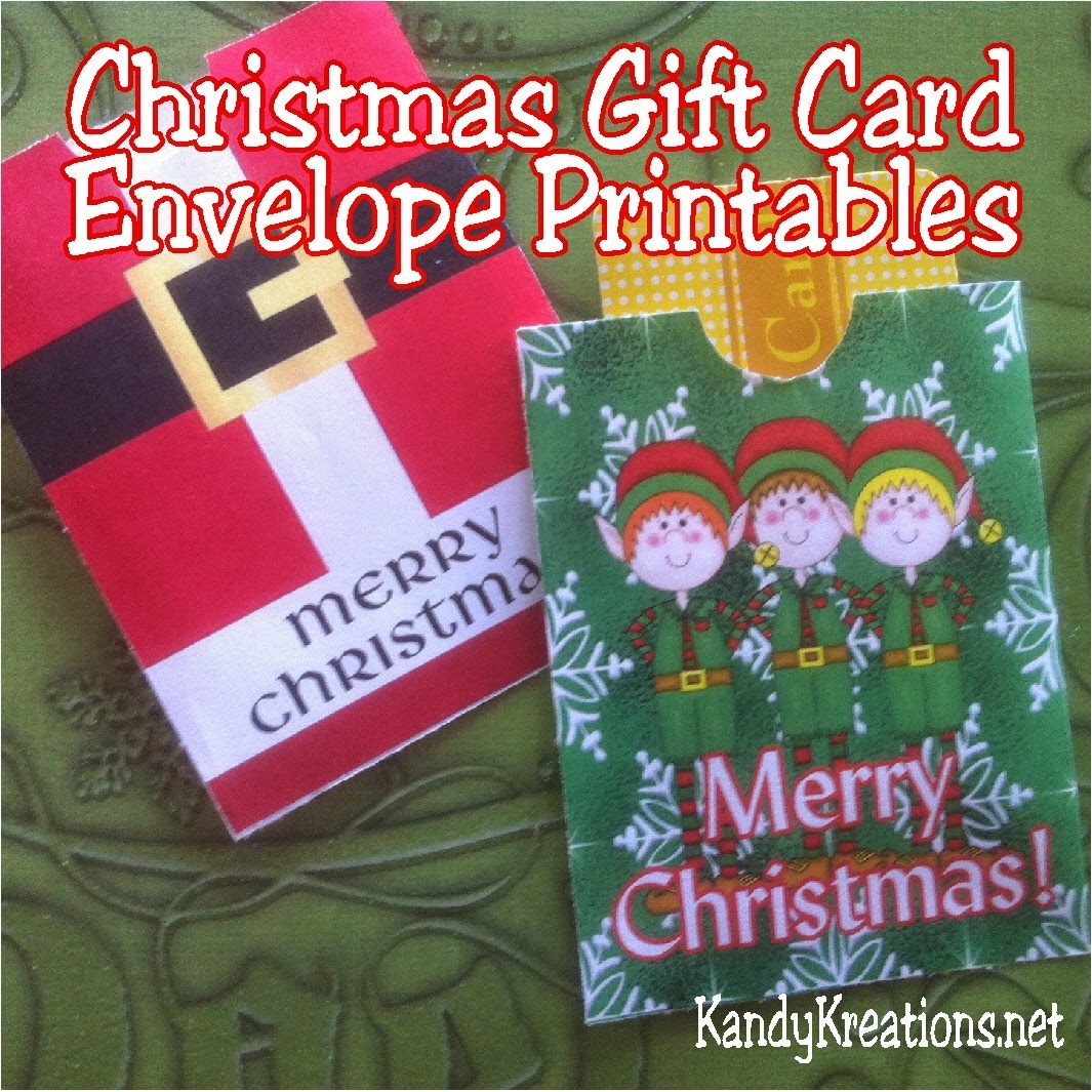 Christmas Gift Card Envelope Free Printables | Diy Party Mom - Free Printable Christmas Gift Card Envelopes